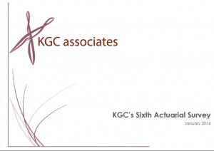 KGC's new look Actuarial Survey